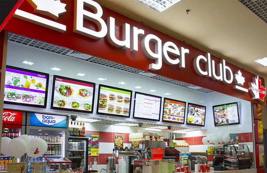 бургер клаб описание