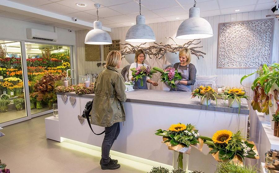 цветочный магазин открытие