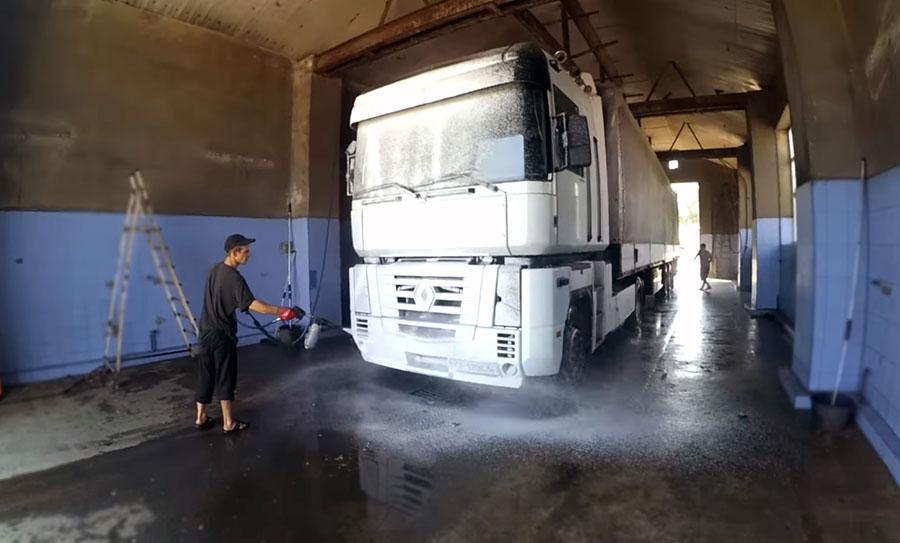 автомойка грузового типа