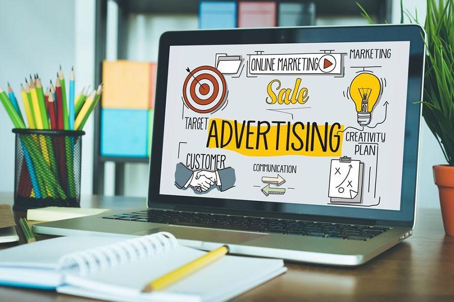 реклама в интернете фотография