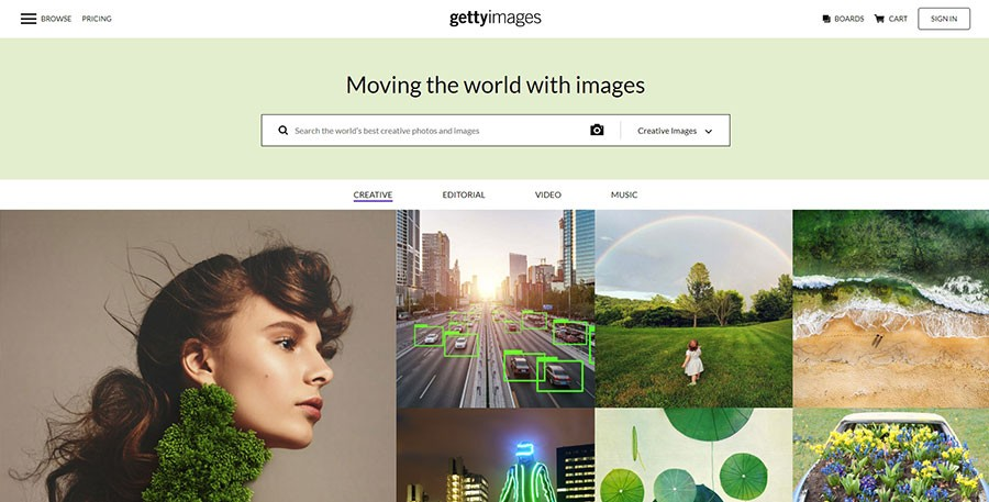 Getty Images сток