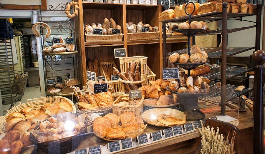 магазин для изделий из хлеба