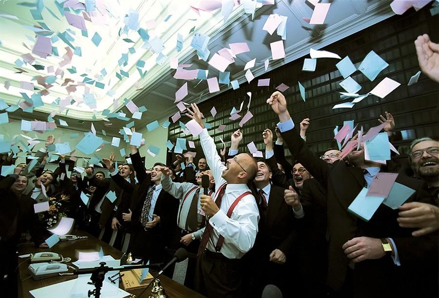 фондовый рынок и участники