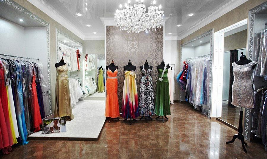 свой магазин платьев