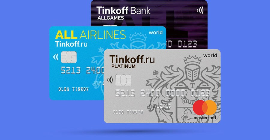 карточки Тинькофф, линия