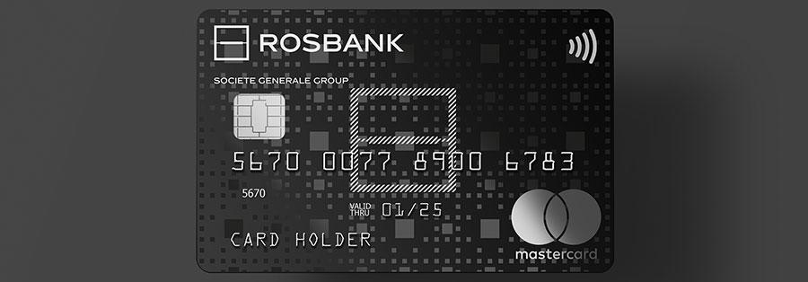 фотография кредитной карты росбанка