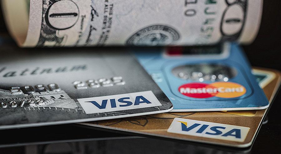 фотография кредитной карточки