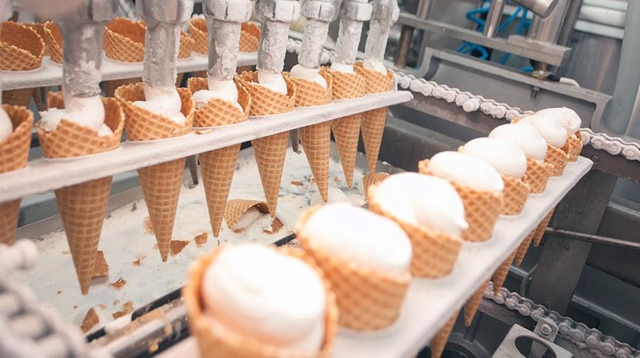 мороженное производство